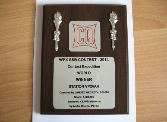 SP9FIH - WPX 2014 Trophy